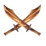 шпага деревянная Стоковое Изображение