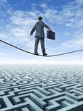 企业挑战 免版税图库摄影