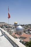 утес Иерусалима купола Стоковые Фотографии RF