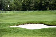 地堡高尔夫球 免版税库存图片