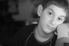 Νέο αγόρι Στοκ Φωτογραφίες