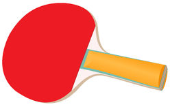 настольный теннис ракетки Стоковая Фотография