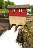 το φράγμα σφυρηλατεί παλαιό Στοκ εικόνες με δικαίωμα ελεύθερης χρήσης