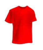 κόκκινο πουκάμισο τ Στοκ εικόνα με δικαίωμα ελεύθερης χρήσης