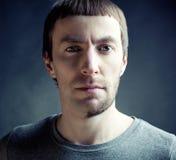 смешной тип человека волос Стоковое Изображение RF