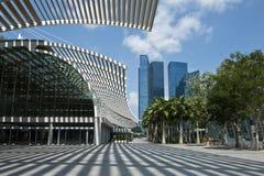 πόλη Σινγκαπούρη Στοκ Φωτογραφία