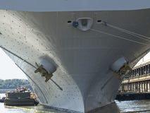 大量的船身 图库摄影