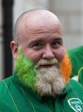风扇爱尔兰语波兹南 免版税库存图片