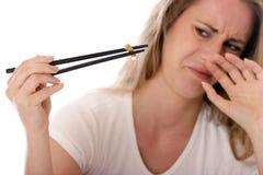 пахнуть сигареты приклада Стоковое Изображение RF