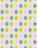 无缝镇静五颜六色的模式的菱形 免版税库存照片