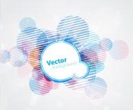 αφηρημένοι κύκλοι ανασκόπησης που χρωματίζονται Στοκ φωτογραφία με δικαίωμα ελεύθερης χρήσης