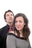 Молодые привлекательные пары Стоковые Фото