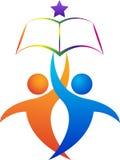логос образования Стоковое фото RF