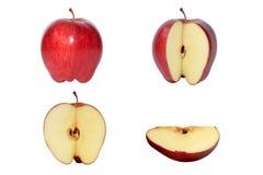 красный цвет яблока Стоковые Фото