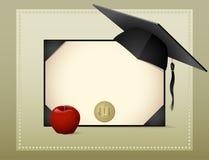 градация диплома Стоковые Изображения RF