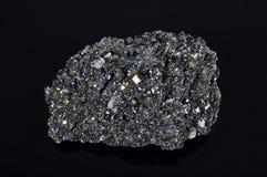 求硫铁矿的立方 库存图片