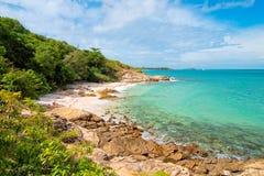 место пляжа идилличное Стоковое фото RF