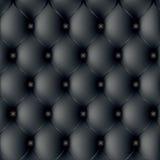 背景黑暗的模式沙发 库存照片