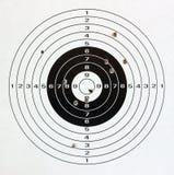 бумажная цель Стоковые Фотографии RF