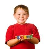 概念教育幼稚园 库存照片