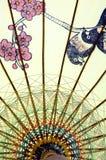 китайский зонтик Стоковая Фотография