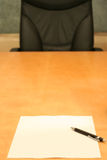 κενό γραφείο Στοκ εικόνα με δικαίωμα ελεύθερης χρήσης