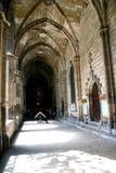 巴塞罗那大教堂西班牙 图库摄影