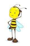 μέλισσα συγκεχυμένη Στοκ Φωτογραφίες
