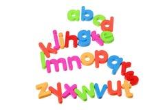 πλαστικό αλφάβητων Στοκ Εικόνα