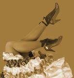 Χορευτής κανκάν Στοκ Φωτογραφίες