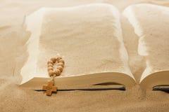 信念圣经的被忘记的字损失  免版税库存图片