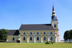 Сельская церковь Стоковые Изображения