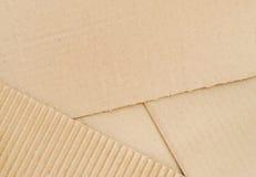 纸板 免版税库存照片