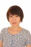 可爱的亚裔妇女 免版税图库摄影