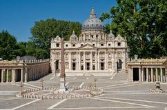 圣皮特大教堂 免版税库存照片