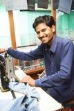 Ινδικό πορτρέτο ραφτών ατόμων Στοκ εικόνες με δικαίωμα ελεύθερης χρήσης