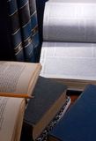 纸研究 免版税库存照片
