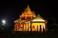 泰国样式大厦。 库存图片