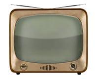葡萄酒电视 免版税图库摄影