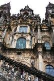 圣地亚哥大教堂 免版税库存照片