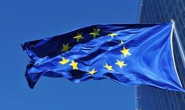 Σημαία της Ευρωπαϊκής Ένωσης Στοκ Φωτογραφίες