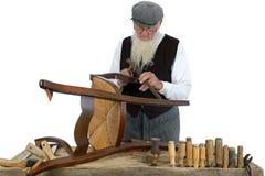 木材加工五 免版税库存照片