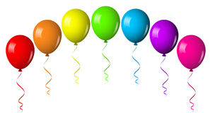 气球曲拱 库存图片