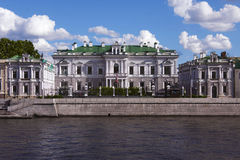 英国的大使的住宅 库存照片