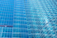 Стены небоскреба - абстрактная урбанская предпосылка Стоковое Изображение RF