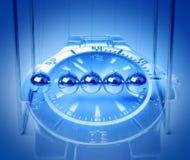 Принципиальная схема времени и вечности Стоковая Фотография RF