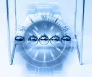 Принципиальная схема времени и вечности Стоковое Изображение RF