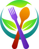 Логос ресторана Стоковые Фото