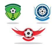 足球象征 免版税库存照片