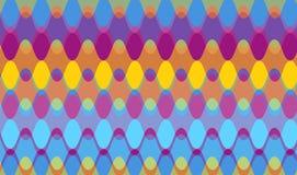 цепные волны пурпура Стоковые Изображения
